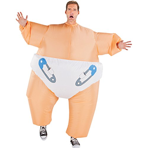 Big Baby Inflatable Adult Costume Size Standard (Halloween Costume Ideas For Adults Uk)
