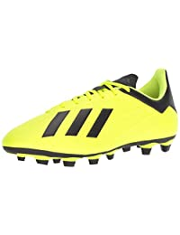 Adidas Mens X 18.4 Firm Ground Soccer Shoe