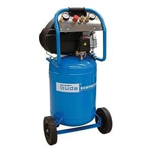 Güde - Compresor (potencia de aspiración: 250 l/min, 10 bares, calderín de 50 L)