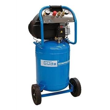 Güde - Compresor (potencia de aspiración: 250 l/min, 10 bares, calderín de 50 L): Amazon.es: Bricolaje y herramientas