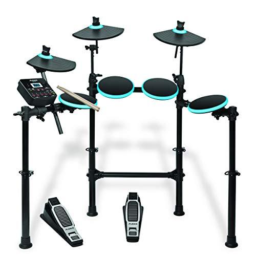 [해외] Alesis LED라이트 업 전자 드럼 키트 드럼 스틱 부착 DM Lite Kit