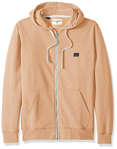 Billabong Men's All Day Zip Hoodie Straw Large ()