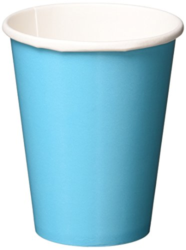 Amscan Disposable Hot and Cold Beverage Paper Cups