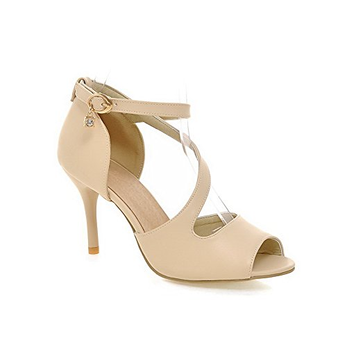 Femme Bout 1TO9 MJS03574 Inconnu 36 5 Ouvert Beige Beige vBqATTcW
