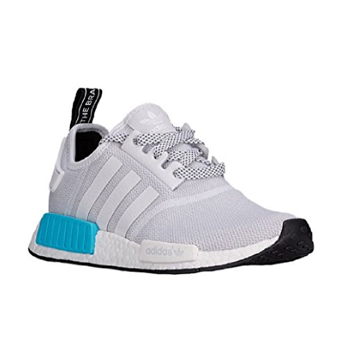 0cca950d6 ADIDAS NMD R1 BRIGHT CYAN 2016 JUNIOR S80207 US YOUTH GS SIZE 6.5 - Buy  Online in Oman.