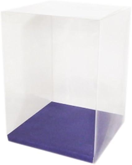 Scatole Trasparente 18x18x25 Cm Pz 10