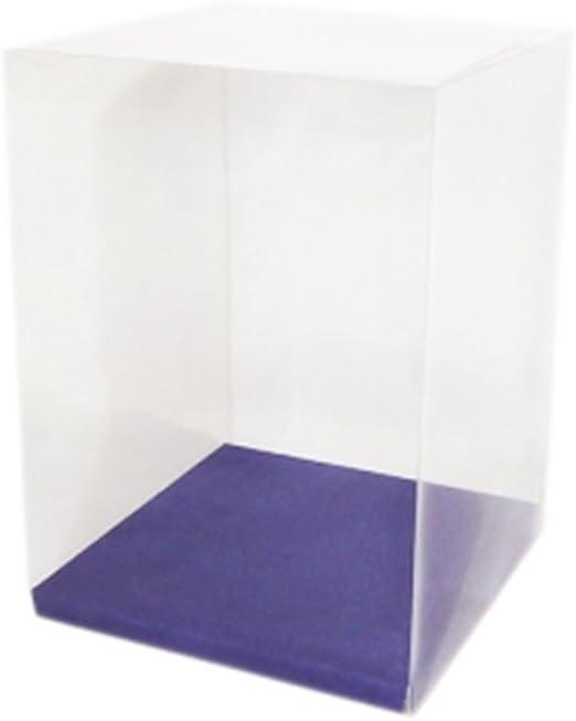 Scatole Caja Transparente 18 x 18 x 25 cm Unidades 10: Amazon.es ...