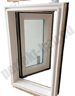 AFG 45x73 Dachausstieg PVC Skylight für Warmdach Dachausstiegsfenster Ausstieg Dachluke KOSTENLOSER VERSAND!!!