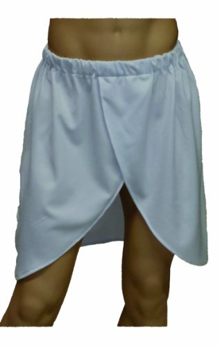 Alexanders Costumes Pharoah Skirt, White, One Size (Egyptian Halloween Accessories)