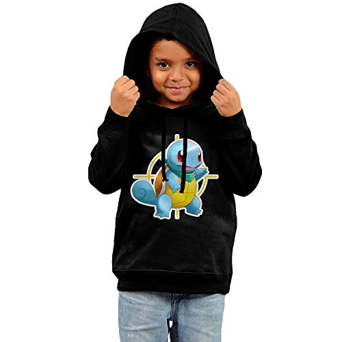 Price comparison product image Squirtle Pokemon Mystery Dungeon Explorers Of Sky Funny Cotton Hooded Sweatshirts For Toddler Boy Girl