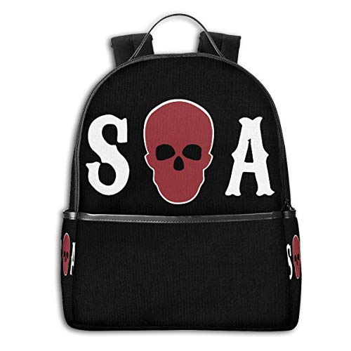 Sons Of Anarchy Season Vintage Backpack Travel Rucksack Laptop Kid School Bag (Son Of Anarchy Handbags)