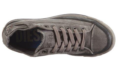 Diesel Exposure Gunmetal Sneaker Low T8080 Grigio Donna Grau W rAwrqU