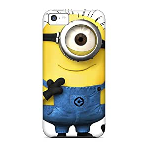 Protector Hard Phone Cases For Apple Iphone 5c (OYl9094LPEv) Customized Trendy Despicable Minion Skin