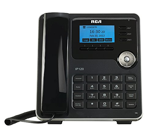 RCA IP120S VoIP Corded Telephone