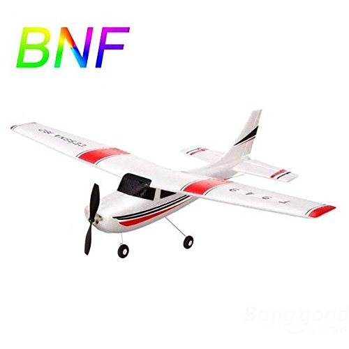 Zehui WLtoys F949 2.4G 3CH Cessna 182 Micro RC Airplane BNF Without - 182 Cessna Brushless