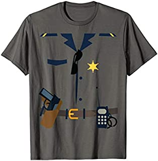 Best Gift Police Officer Costume  | Cool Police Halloween Gift Need Funny TShirt / S - 5Xl