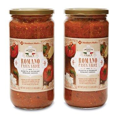 Member's Mark Romano Pasta Sauce (24 oz. ea., 2 pk.) x2 AS