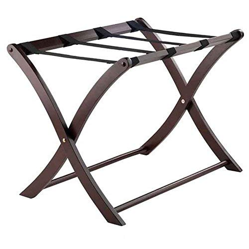 Winsome Wood 40620 Scarlett Cappuccino Luggage Rack,
