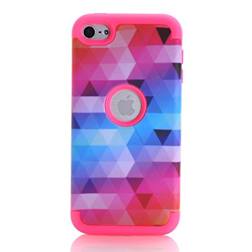 - iPod Touch 7 Case, iPod Touch 6 Case, SAVYOU 3 in1 Combo Anti Slip iPod Touch 5 Shockproof Case Hybrid with Soft Flexible Inner Silicone Skin Protective Cover