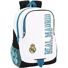 Oficial Real Madrid Soccer - School Bag - Rucksack - Backpack - 12.6