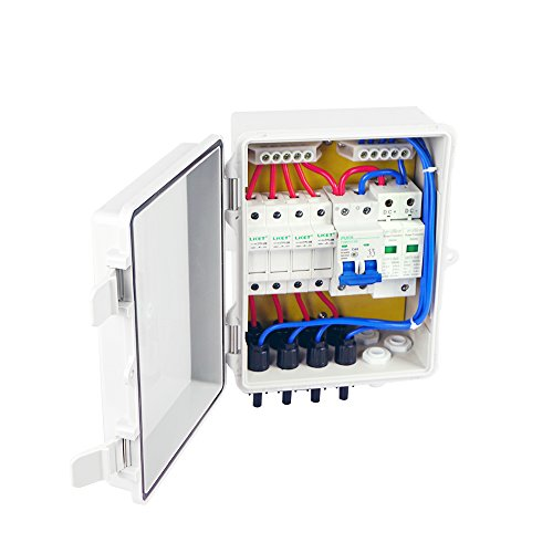 ECO-WORTHY 4 String PV Combiner Joint Box 10A Circuit Breakers for On/Off Grid Solar Panel System by ECO-WORTHY (Image #4)