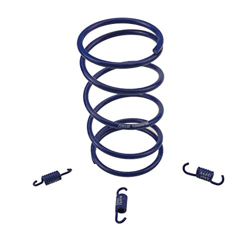 - Glixal ATKS-03901 Chinese Scooter High Performance Racing Torque Spring clutch springs GY6 50cc-100cc 139QMB 1P39QMB Engine Moped ATV (1000RPM,Blue)