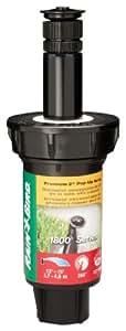 """Rain Bird 1802VAN Professional Pop-up rociadores ajustable, 0–360°, 8'–Patrón 15distancia de pulverización, 2""""pop-up altura"""