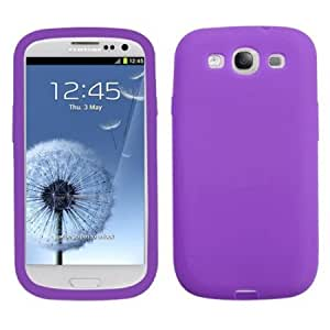 Bloutina Asmyna SAMSIIICASKSO056 Soft Durable Protective Case for Samsung Galaxy S3 - 1 Pack - Retail Packaging - Electric...