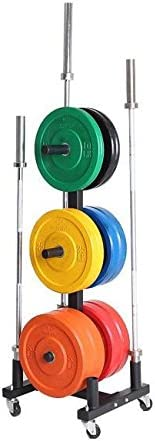 Xtreme Monkey Olympic Bumper Plate Holder W Wheels