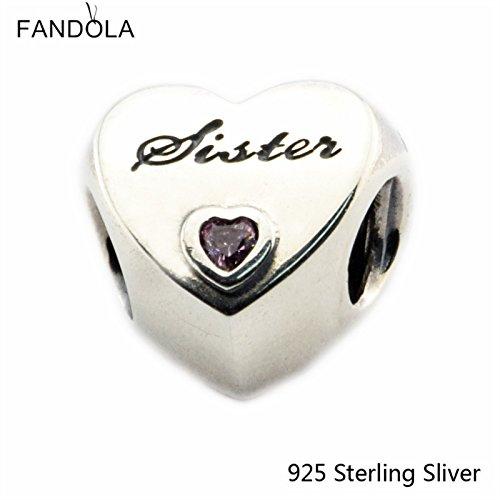 Beads Fits Pandora Jewelry Bracelets 925 Sterling Silver ...