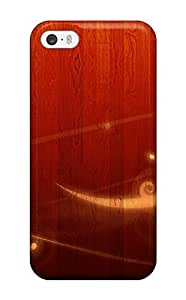 Durable Protector Case Cover With Wood With Vector Hot Design For Iphone 5/5s