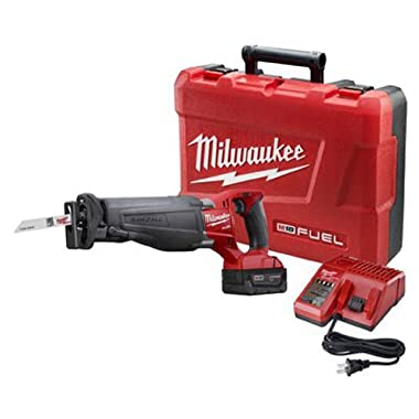 Milwaukee 2720-21 M18 FUEL SAWZALL Reciprocating Saw Kit with 1 Battery