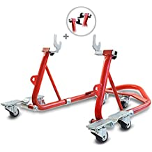 Rear Paddock Stand Dolly Husqvarna Nuda 900/ R ConStands Mover I Racing Red