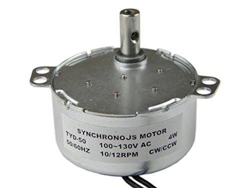 CHANCS TYD-50 Synchronous Motor 110V AC 10-12RPM CWCCW 4W Torque 3Kgcm 4W