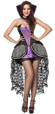 Luruiya Women's Evil Queen Adult Halloween Costume