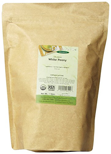 Davidson's Tea Bulk, White Peony, 16-Ounce Bag ()