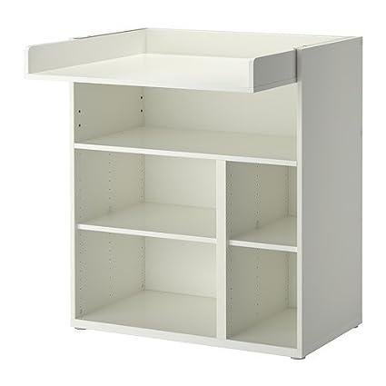 IKEA STUVA - Cambio de mesa / escritorio, blanco - 155 cm
