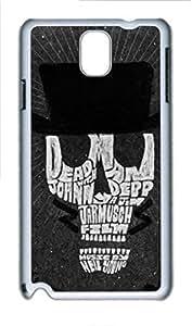 Samsung Galaxy Note 3 N9000 Case, iCustomonline Dead Man Illustration Case for Samsung Galaxy Note 3 N9000 by icecream design
