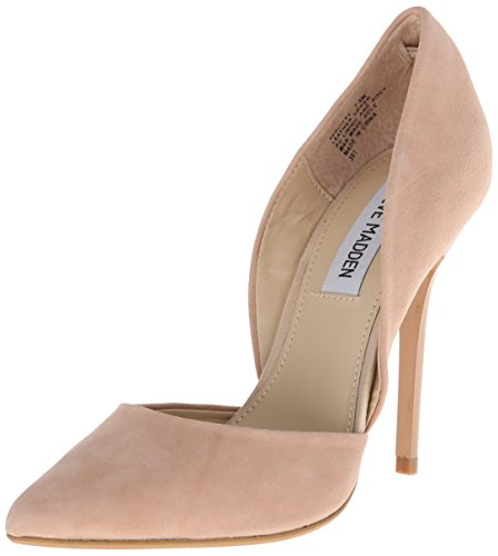 Steve Madden Womens Varcityy Dress Pump Blush Suede 8 M US