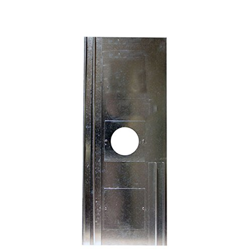 ChimFit Chimney Register Closure Plate 800mm x 400mm With Inspection Hatch & 6' Centre Hole
