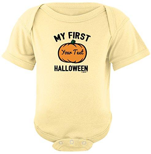 Personalized Bodysuit Sayings Personalized Baby Name First Halloween Bodysuit Newborn Banana (Halloween Inspired Names)