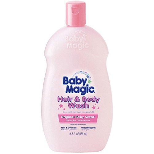 Baby Magic Hair & Body Wash Original Baby Scent 16.50 oz (Pack of 7)
