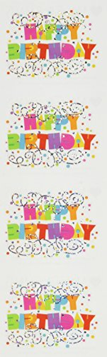 Happy Birthday Scrapbooking - Mrs Grossman Stickers-Happy Birthday