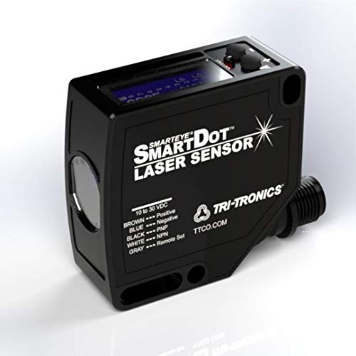 SLVC SMARTEYE スマートドット レーザーセンサー 高度なタイマー付き 6インチ 焦点距離.05 x 0.03インチ @ 6インチ スポットサイズ 10から30 VDC   B07HPDTCNY