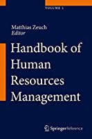 Handbook of Human Resources Management Front Cover