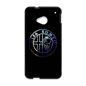 Happy Alfa Romeo car sign fashion cell phone case for HTC One M7