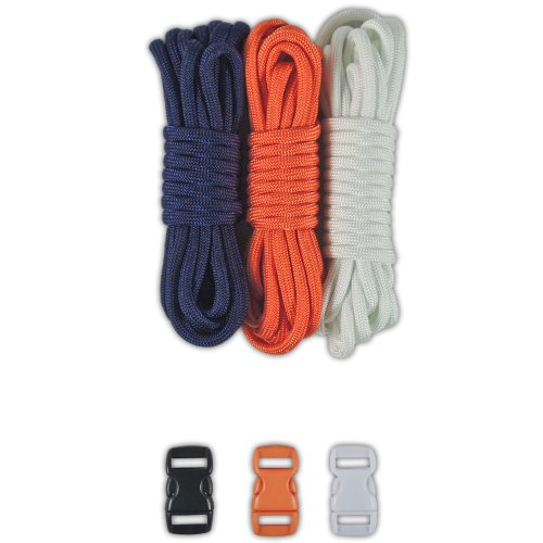 PARACORD PLANET 550lb Type III Paracord Combo Crafting