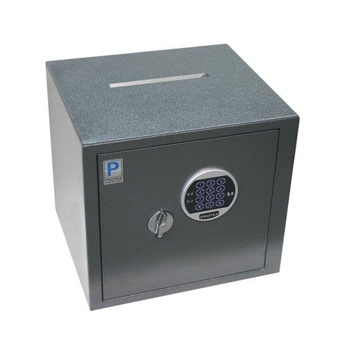 Protex HD-34C Electronic Burglary Safe w// Drop Slot