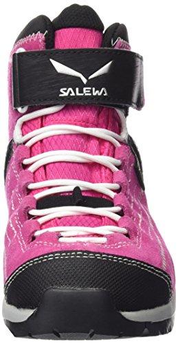 SALEWA Jr Alp Player Mid GTX, Botas de Senderismo Unisex Niños Rosa/Blanco (Pinky/White 6120)