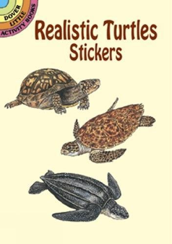 Realistic Turtles Stickers (Dover Little Activity Books Stickers)